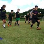 I Got Skills Soccer Camp will focus on footwork, technique, and moves to beat opponents.  Players will improve their soccer skills and develop a higher level of confidence with the ball.June 2-6 – Central Oahu Regional ParkTime: 9am to 3pm (Drop Off From 8:30am, Pick up till 3:30pm)Who:  All boys and girls ages 6-14 welcomeAttire: Proper soccer attire including cleats, shin guards, ball, water bottle, and sack lunch* includes camp t-shirt